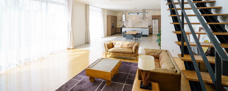 """永野ハウスの強み 施工棟数を限定した""""一点もの・一生もの""""の家。"""